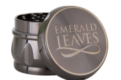 Grinder-Emerald-leavse-Gunmetal-4
